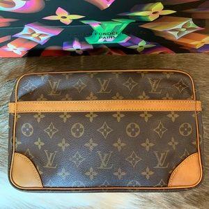 💯 Authentic Louis Vuitton Compiegne 28